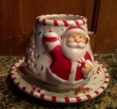 END OF SEASON! Home Interiors # 59146 Santa Cer... - $12.19