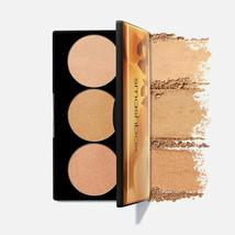 Smashbox SPOTLIGHT PALETTE in GOLD Highlight Bronze 3 Colors Turn Crank ... - $25.85