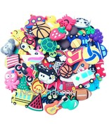 Customer Choice 200 Shoe Charms - Rubber Charm Wholesale Lot - £36.06 GBP
