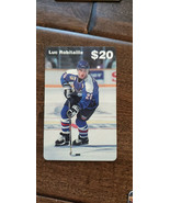 1994 NHLPA SAMPLE PHONE CARD LUC ROBITAILLE KINGS PENGUINS RANGERS RED W... - $11.99