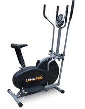 Pro XS Sports 2 in 1 Elliptical Cross Trainer Exercise Bike Fitness Home... - $166.68