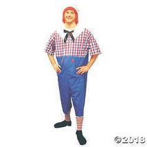 Adult Plus Size Raggedy Andy Costume - $46.23