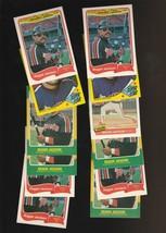Reggie Jackson Fleer Angels Baseball Card Lot of 12 - $2.12