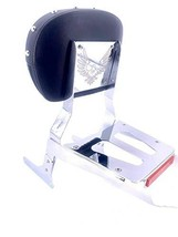 MyLohas STUD Silver Sissy Bar Backrest & Luggage Rack for Honda Rebel CMX 250 CA - $131.67