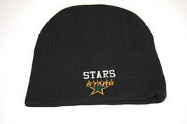 DALLAS STARS NHL LICENSED BLACK KNIT CAP/BEANIE - $14.24