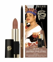 Lipstick Lip Kit Cosmetics Milani Salt N Pepa 90s Retro Makeup Set New In Box - $49.20