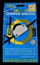 HI-LO Leviton dimmer switch feedthru kwikwire 419-1K Ivory VINTAGE  300W... - $13.36