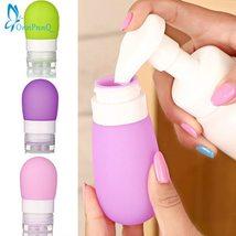 Onnpnnq Portable Round Silicone Travel Bottles Cosmetics - $13.48+