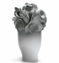 Lladro Porcelain 01007902 Naturo. - Large vase (grey) Retired New Box 7902 - $1,062.10