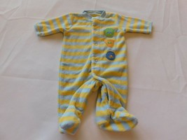 Child of Mine Carter's Girl's Boy's Long Sleeve Footed Bodysuit Size P Preemie - $19.79