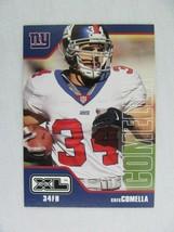 Greg Comella New York Giants 2002 Upper Deck Football Card 303 - $0.98
