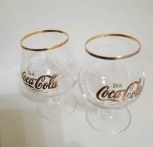 German Trink Coca-Cola Glass Shutzmarke Koffeinhaltige Limonade 0,31 Gol... - $17.99