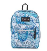 Blue Water Splash Backpack Rucksack College School Laptop Computer Sport... - $69.29