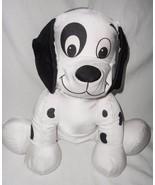 Disney 101 Dalmatian Patch Puppy Dog Microbead Plush Stuffed Animal Nylon - $49.38