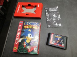 Sonic 3D Blast (Sega Genesis, 1996)  Complete in Box - CIB - $37.99