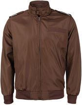 Men's Athletic Lightweight Water Resistant Slim Fit Racer Jacket image 11