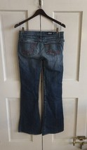 "ROCK & REPUBLIC Womens Blue Jeans ""ROIH"" Boot Cut Size 26 - $6.85"