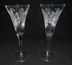 Waterford Crystal Millennium Collection Happiness Toasting Flutes - $75.99