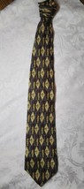 STUDIO BY FUMAGALLIS 100%IMPORTED SILK MADE IN USA GOLF TIE - $20.79