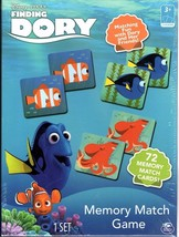 Disney Pixar Finding Dory Memory Match Game 72 Cards Spin Master Games Nemo - $15.84