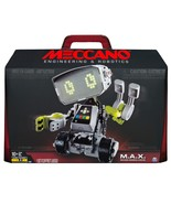 Meccano-Erector M.A.X Robotic Interactive Toy with Artificial Intelligence  - $99.99