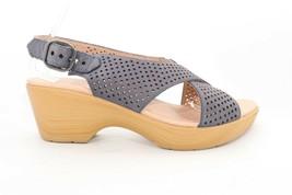 Dansko Jacinda Nubuck   Sandals  Blue  Women's Size EU 40 () - $55.78