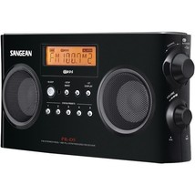 Digital Portable Stereo Receiver with AM/FM Radio (Black)  - $109.99