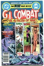 G.I. COMBAT #252-DC WAR-WWII ACTION-Joe Kubert FN+ - $15.13