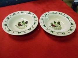POPPY TRAIL China HOMESTEAD PROVINCIAL  by Metlox-..Set of 2 BERRY BOWLS - $7.59