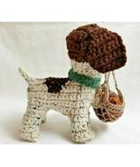 Amigurumi German Shorthaired Pointer Puppy Dog Crochet Handmade Figurine... - $39.95