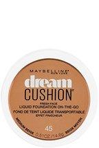 Maybelline Dream Cushion Fresh Face Liquid Foundation, Medium Beige, 0.51 oz. - $12.86