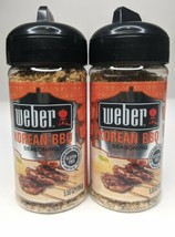 2 Weber Korean BBQ Grilling Seasoning 5.5 Oz Each Best by 2021 - $21.78