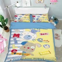 3D Cute Dolls 12 Bed Pillowcases Quilt Duvet Cover Set Single Queen King... - $64.32+