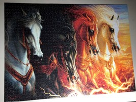 Jigsaw Puzzle 1500 Pieces The Four Horses of the Apocalypse 24 x 33 inch image 2