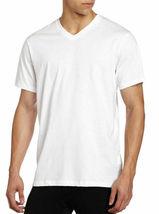 Hugo Boss Men's 3 Pack Pure Cotton Regular Fit V-Neck Shirt T-Shirt 50325386 image 3