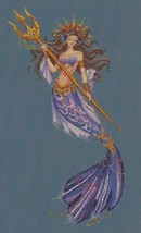 "Chart N Embellishment + kreinik ""HEIRESS OF ATLANTIS"" by Bella Filipina Designs - $49.49"