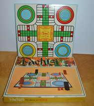 Vintage PACHISI & LE JEU JOLI Board Game Whitman 1967 Complete Family Night - $7.56
