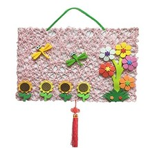 DIY Nursery Decoration Hand Made Cloth Product (Dragonfly and Flower) image 2