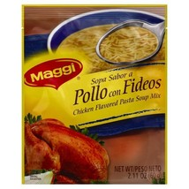 Maggi Chicken Flavor Noodle Soup Mix, Pollo Con Fideos 2.11 Ounce Packet... - $29.50