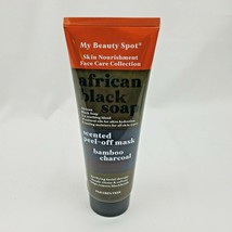 My Beauty Spot African Black Soap Charcoal Scented Peel-Off Face Mask 6.7oz - $17.05