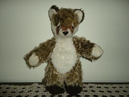 Steiff 6205/30 Soft Raccoon 1972 - 1979 NO ID Stuffed Dralon Plush Wasch... - $69.78