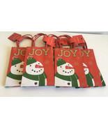 New Wondershop Christmas Gift Bags 10 Pieces Total - $5.99