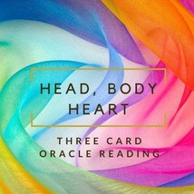 Head, Body, Heart Oracle Reading - $30.00