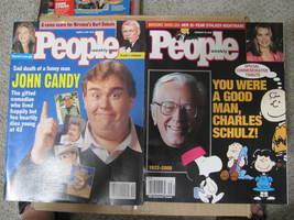 People Magazine John Candy/Charles Schulz - $16.99