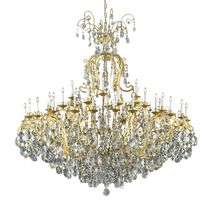 "AM5100V: Lighting Pecaso ""Versailles"" Grand Chandelier (68""-82"" H) $4,623+ - $4,623.00"