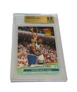 Shaquille Oneal Shaq Rookie RC Lakers non auto BGS 9.5 Fleer Ultra #328 ... - $1,485.00