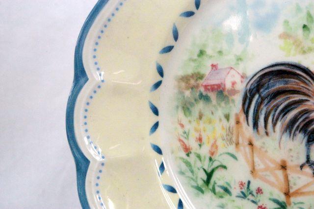 Lenox Provencal Garden Rooster Salad Plate image 3
