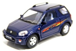 "New 5"" Toyota Rav4 Diecast Model Toy SUV 1:32 Blue - tkrm - $24.95"