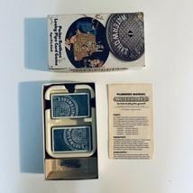 Vintage 1972 WATERWORKS Parker Brothers Leaky Pipe Card Game 100% Complete - $5.89