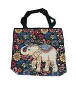 """Bag - Good Luck Elephant Tote- Size 17"""" Wide by 16"""" Tall,  3"""" Wide Base,... - $70.00"""